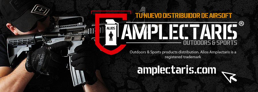 Alios Amplectaris Outdoor & Sports - Distribucion de productos airsoft en WZ Airsoft Magazine - La revista de airsoft Online